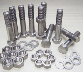 Titanium Hexagon Head Screws